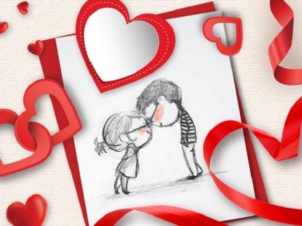 З Днем святого Валентина! Листівки, привітання та валентинки