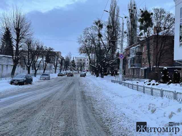 Одна з найкоротших вулиць Житомира. ФОТО