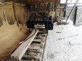 На Житомирщині поліція вже вдруге припиняє діяльність нелегальної лісопильні. ФОТО