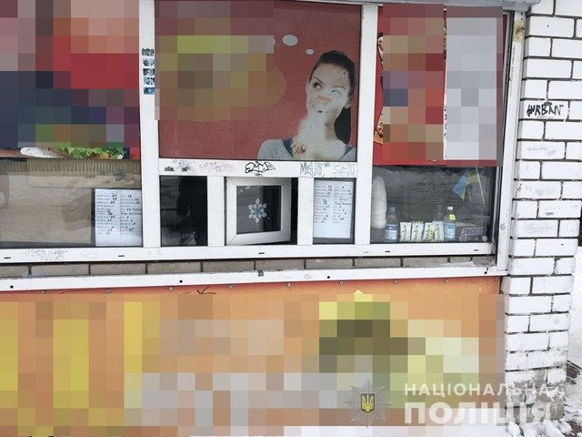 На Житомирщині троє молодиків пограбували кіоск, одного вже розшукали. ФОТО