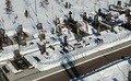 У Житомирі посилили патрулювання на військовому кладовищі