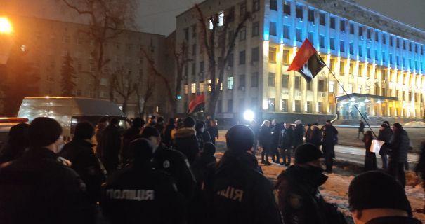 Житомирська поліція звільнила арештованих активістів