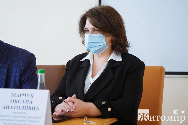 У Житомирі представили нового начальника Головного управління Державної казначейської служби України в області. ФОТО