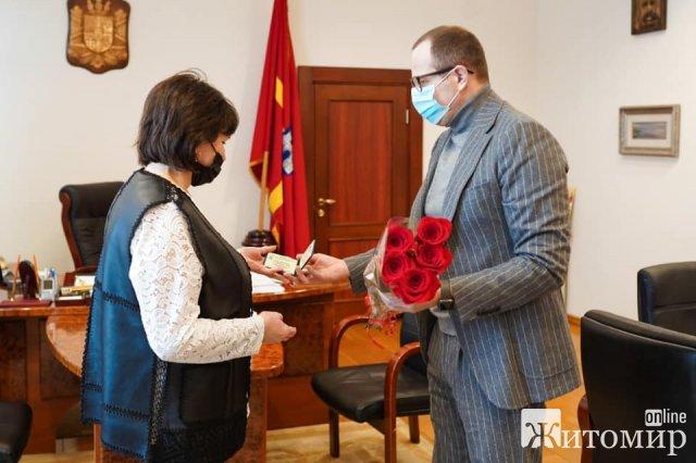 Мати загиблого учасника АТО стала радницею голови Житомирської обларади
