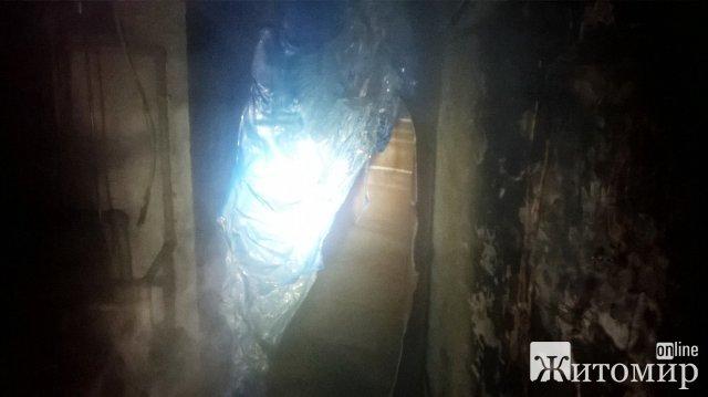 В одному з закладів освіти Овруча сталася пожежа в котельні. ФОТО