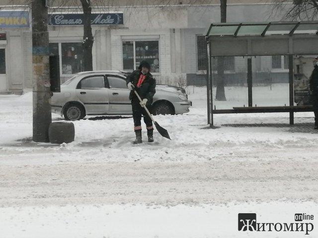 У міськраді кажуть, що комунальники в Житомирі працюють в посиленому режимі. ФОТО