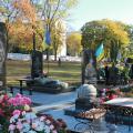 На військовому кладовищі у Житомирі зламали флагшток та вкрали прапор з могили офіцера 95-ї бригади