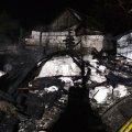 У Житомирському районі рятувальники ліквідували пожежу господарчої будівлі та врятували сінник. ФОТО