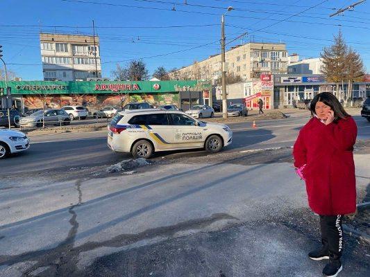 """Біля гастроному """"Люцина"""" у Житомирі збили чоловіка"""