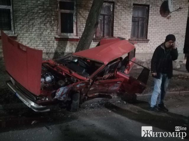Ще один водій у Житомирі наробив горя та втік з місця ДТП! ФОТО.