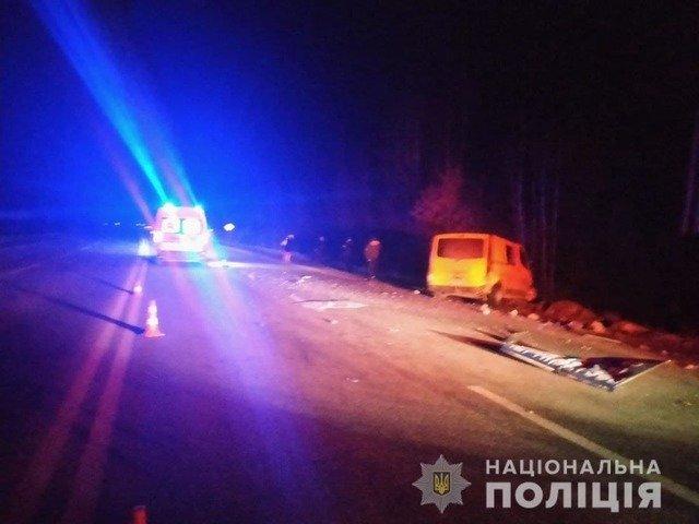 У Житомирському районі сталася смертельна ДТП. ФОТО