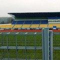 """На житомирському стадіоні """"Полісся"""" усувають недоліки, на які вказали в УАФ"""
