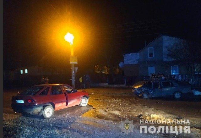 У Бердичеві зіштовхнулись Ford та ВАЗ, двоє травмованих. ФОТО