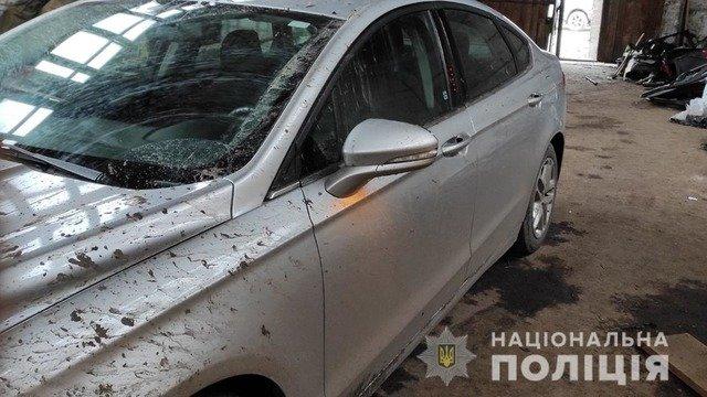 На Житомирщині встановили причетних до вкрадення двох автомобілів. ФОТО