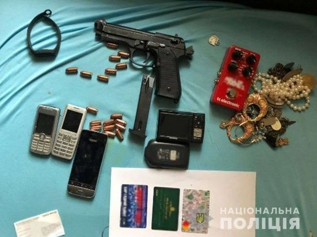 Жителя Житомирщини підозрюють у розбійних нападах на будинки держслужбовців. ФОТО