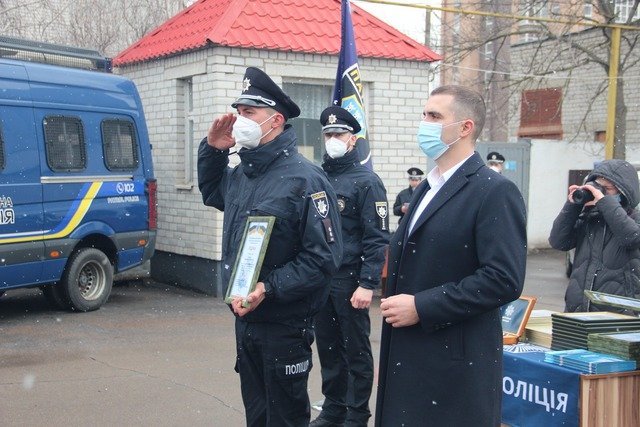 Патрульні Житомирщини відзначають свою п'яту річницю з дня створення. ФОТО