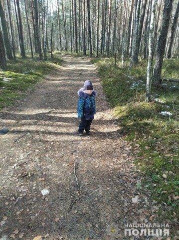 На Житомирщині у лісі розшукали зниклого 2-річного малюка. ФОТО. ВІДЕО