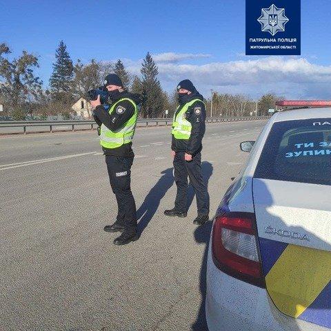 На Житомирщині з'явились нові ділянки доріг з фіксацією перевищення швидкості