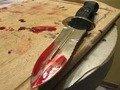 У Житомирі затримали чоловіка, який в ході застілля вдарив чаркувальника ножем