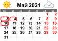 Вихідні на Великдень 2021: скільки днів відпочиватимуть українці