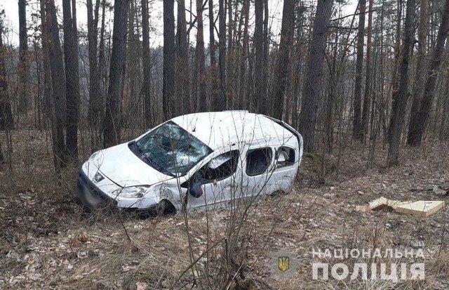 У Житомирському районі двоє чоловіків травмувалися внаслідок ДТП. ФОТО