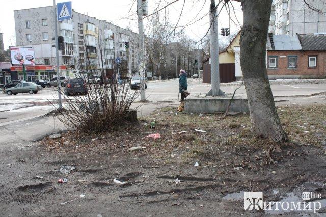 """У Житомирі чиновники створили маршрут """"дорога смерті"""". ФОТО"""