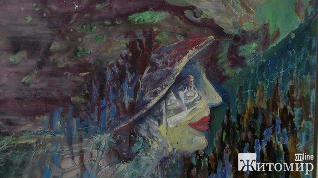 Свій перший спільний проєкт презентували у Житомирі художниця Олена Славова та фотограф Іван Канкін. ВІДЕО