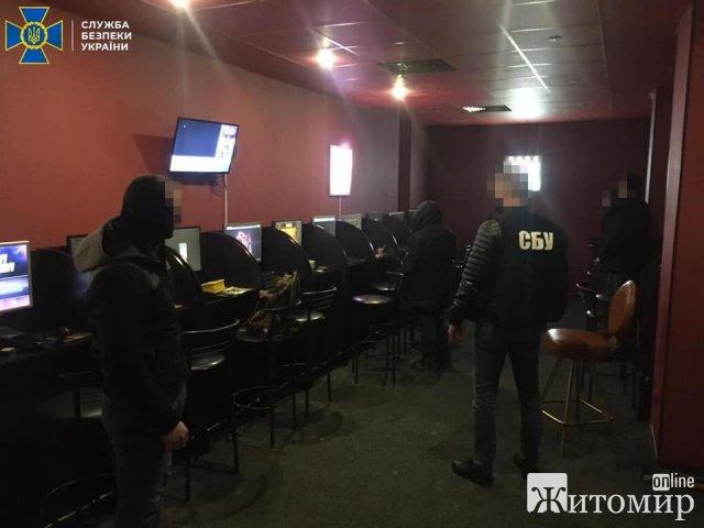 У Житомирі викрили організаторів підпільного грального бізнесу з мільйонними тіньовими оборотами. ФОТО