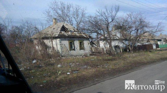 """""""Розвалене"""" село на Житомирщині. ФОТО"""