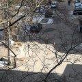 На Київській в Житомирі місцеві виявили гранату. ФОТО