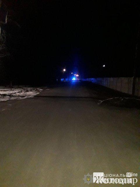 У селі на Любарщині у ДТП загинув чоловік. ФОТО