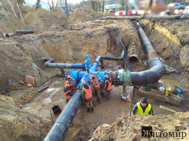 У житомирському водоканалі сказали, коли у місті відновлять воду