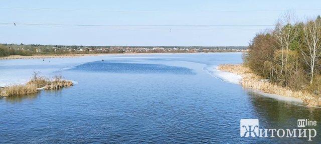 Житомирське водосховище переповнене водою. ФОТО