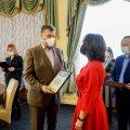В обласному центрі нагородили переможців конкурсу «Учитель року 2021» на Житомирщині. ФОТО