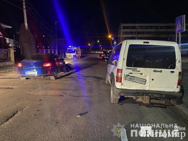 У поліції розповіли, як в Житомирі затримували неадекватного водія Honda, що підірвав гранату. ФОТО