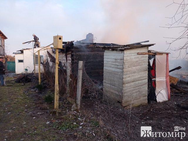За добу на Житомирщині сталися пожежі в Радомишльському, Коростенському, Олевському та Коростишівському районах. ФОТО