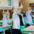 У райцентрі Житомирської області учні 1-4-х класів виходять на навчання