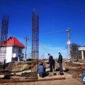 У Житомирській області тривають роботи зі зведення наземного шляхопроводу над залізницею. ФОТО