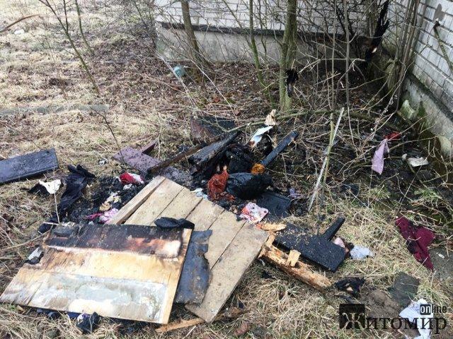 На Житомирщині рятували від знищення дві хати-пустки. ФОТО
