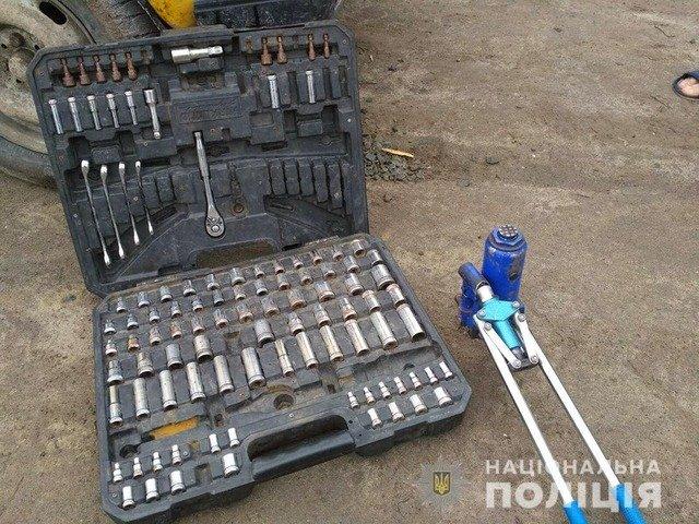 На Звягельщині викрили автомобільного злодія. ФОТО