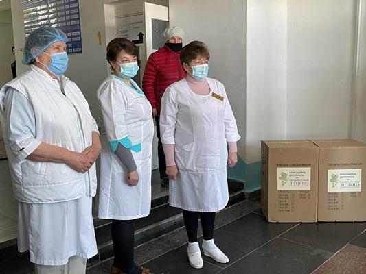 """Володимир Литвин:""""Допомагаємо в боротьбі з епідемією"""""""