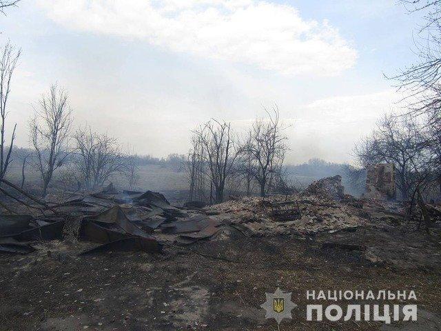 На Житомирщині троє людей постраждали через випалювання сухої трави. ФОТО
