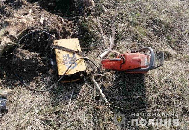 У Бердичеві двоє чоловіків крали електроінструменти. ФОТО