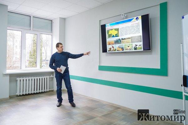 У Житомирі презентували космічну систему оповіщення пожеж. ФОТО