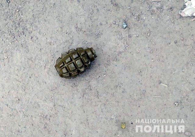 У Бердичівському районі поліція виявила гранату в п'яного чоловіка. ФОТО