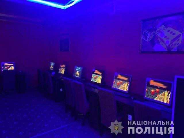 У Коростишеві ліквідували нелегальний гральний заклад. ФОТО