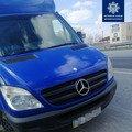 На Житомирщині патрульні зупинили водія Mercedes з підробленими правами. ФОТО