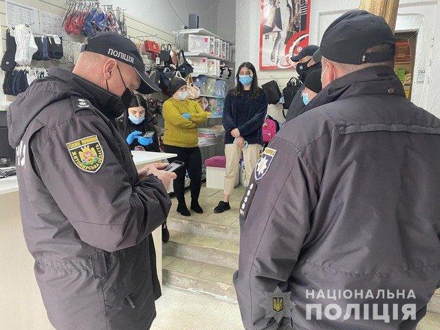 На Звягельщині поліція перевіряла заклади торгівлі та харчування. ФОТО