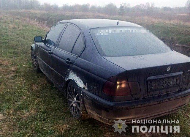 На Житомирщині водій BMW потрапив у ДТП та спробував уникнути відповідальності. ФОТО