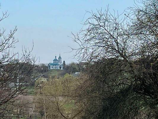 Вид на Станишівську церкву з провулку Паперового у Житомирі. ФОТО